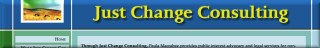 Just Change Consulting banner